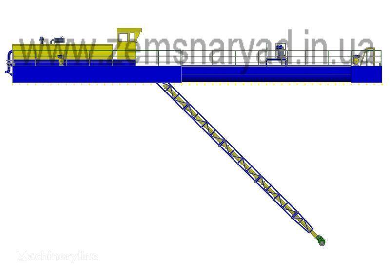 новый земснаряд НСС Земснаряд НСС 1600/25-Ф-К