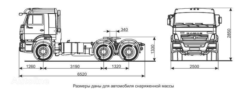 тягач КАМАЗ Седельный тягач КАМАЗ-65116 (6х4)