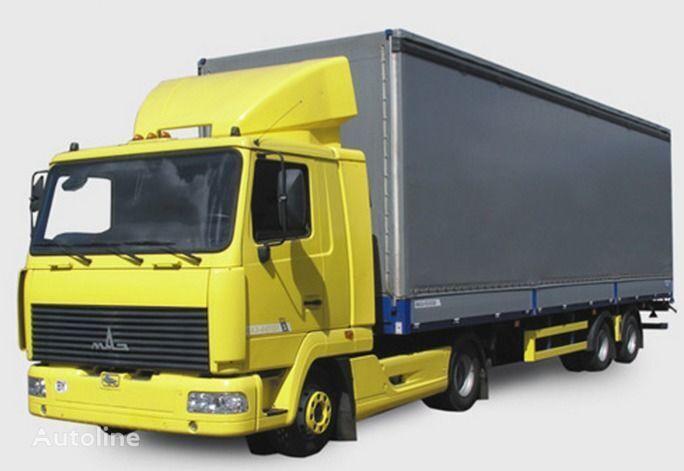 новый тягач МАЗ 447131