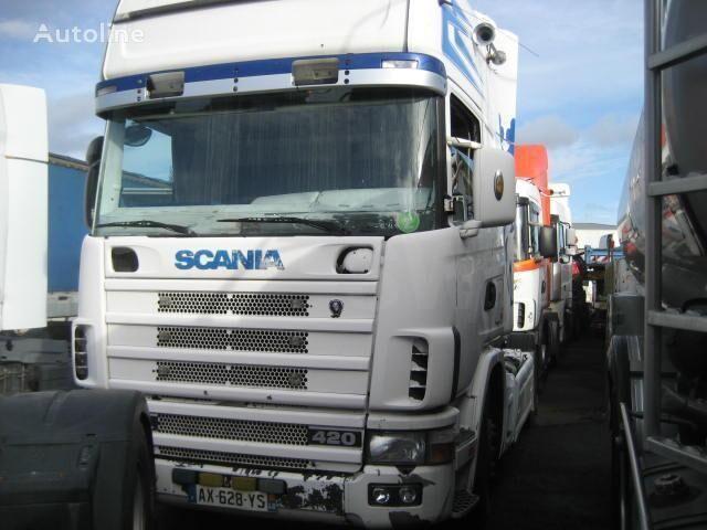 тягач SCANIA L 124L420