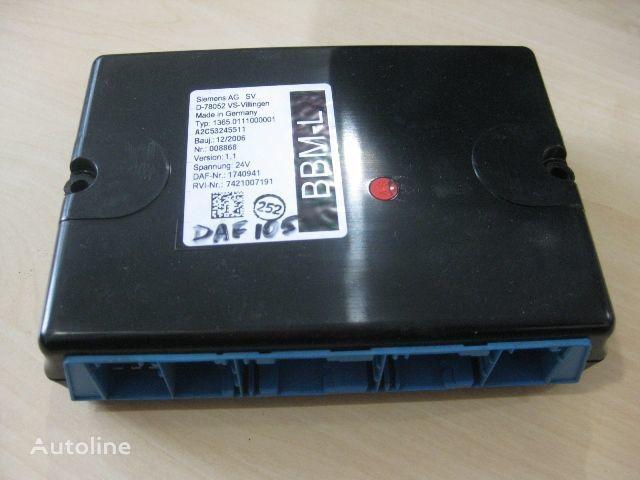 блок управления  DAF 1365.0111000001 для грузовика DAF