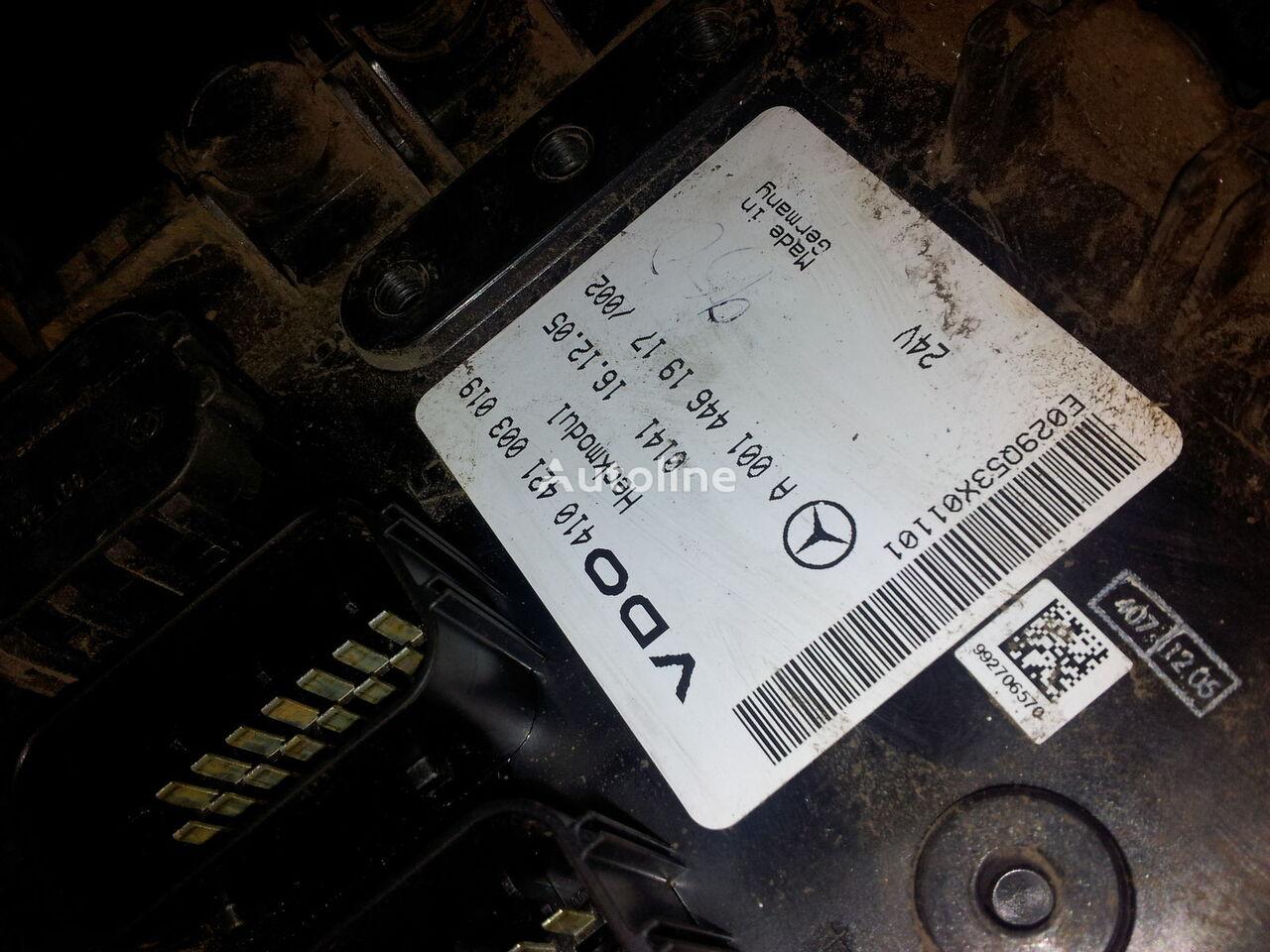 блок управления  MB Actros MP2, MP3, Heckmodul, control unit, EDC, ECU, rear module electronics, 0014461917, 0014462817, 0014462017,0014461917,0014462717,0014461617, 41021003020, 410421003019, 0014462817 для тягача MERCEDES-BENZ Actros MP2; MP3