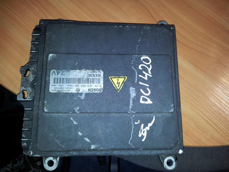 блок управления  Renault Premium DCI engine control unit, ECU, EDC, 5010550351, BOSCH 0281010966 для тягача RENAULT Premium DCI 420PS