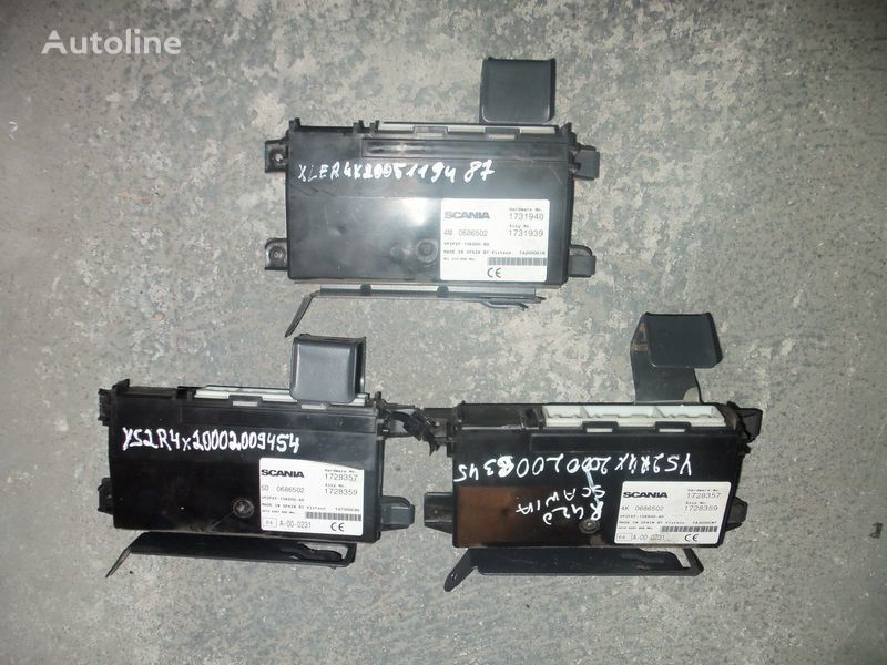 блок управления  Scania R series RCL control unit (AECU ASSY) 1731940, 1731939, 1728359, 139365, 1731939, 1539372, 1539372 для тягача SCANIA R series