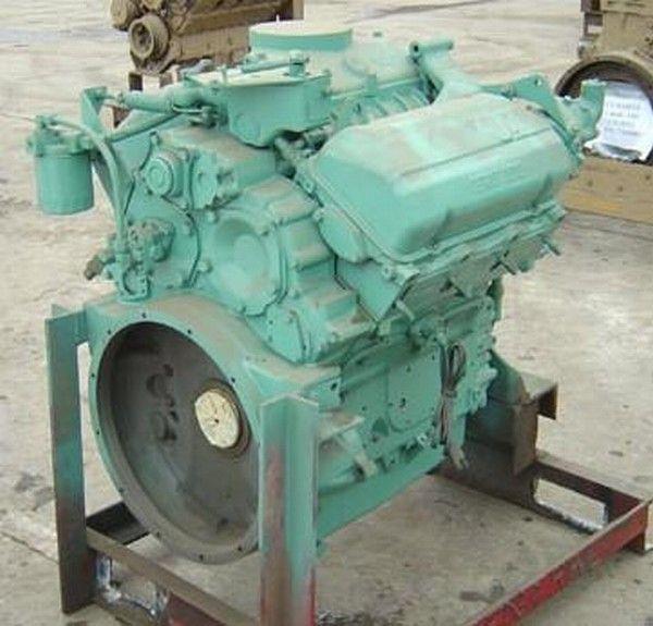 двигатель для другой спецтехники Detroit 6V53