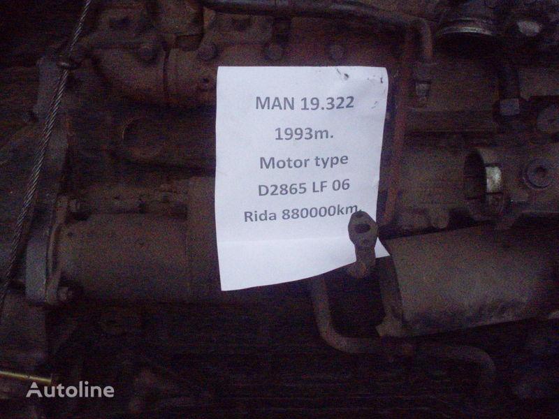 двигатель  MAN D 2865 LF 06 для грузовика MAN 19.322