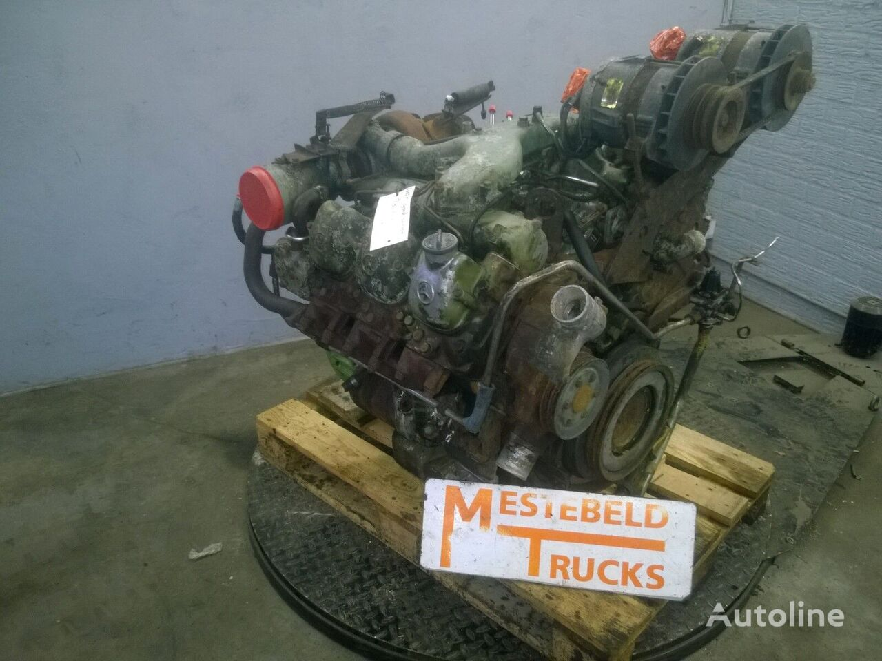 двигатель  Mercedes Benz OM421A для автобуса MERCEDES-BENZ Bus motor OM421A