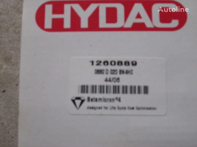 новый фильтр гидравлический  Німеччина Hydac 1260889 для экскаватора