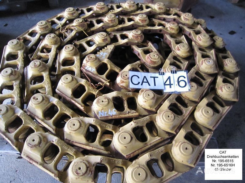 гусеница  Kette /( Drehbuchsen) und Bodenplatten для бульдозера CATERPILLAR D6