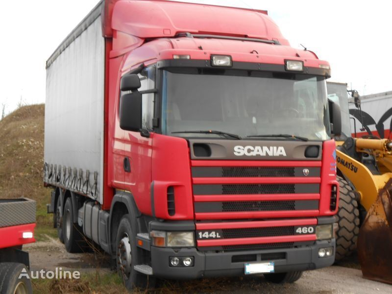 кабина  CR 19 для грузовика SCANIA 144L 460/530 PS