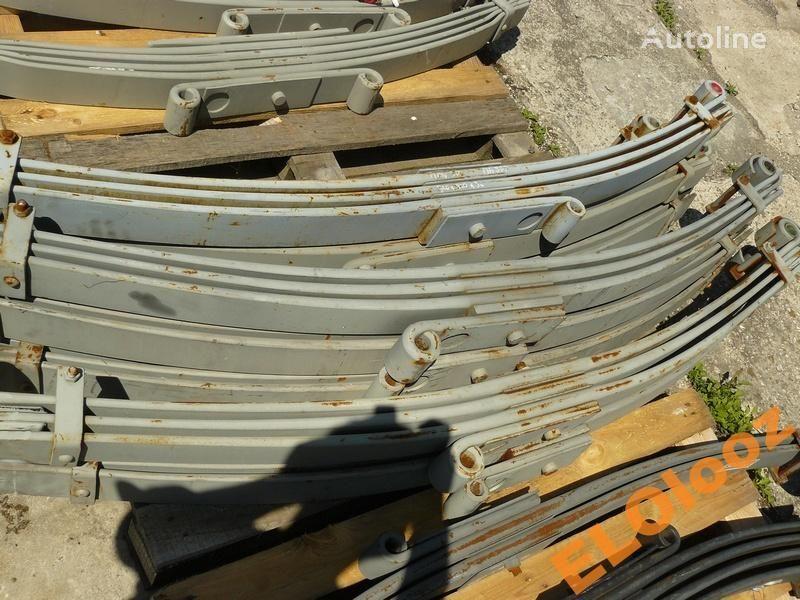 листовая рессора для грузовика MAN PRZÓD 3P 900X900X90 TULEJKA MOS WYCISZON