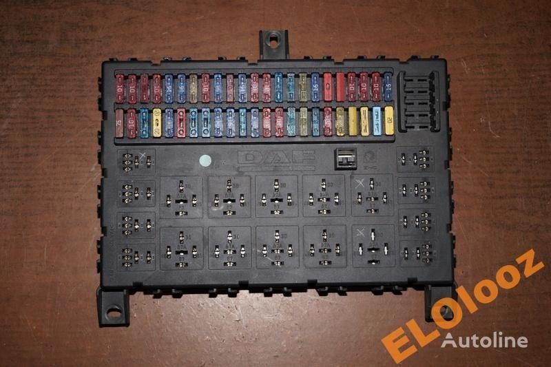 предохранительная коробка для грузовика DAF SKRZYNKA TABLICA BEZPIECZNIKÓW DAF XF CF 1373830