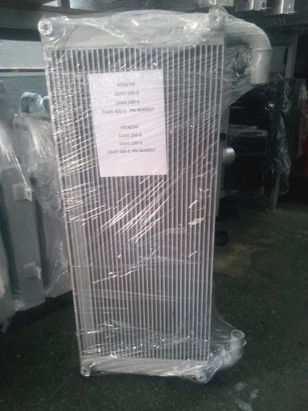 новый радиатор охлаждения двигателя  Hitachi Масляный для экскаватора HITACHI ZX330, ZX350, ZX400