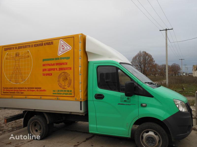 новый спойлер для грузовика ГАЗ NEXT