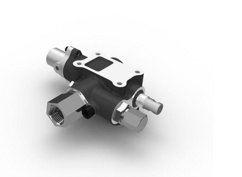 новая запчасти  Распределительный клапан АВСТРИЯ на гидравлический бак 140л/мин для тягача