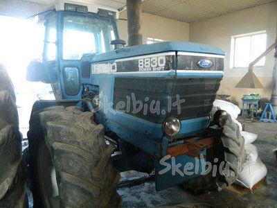 запчасти  spare parts /б/у запчасти для трактора FORD 8830