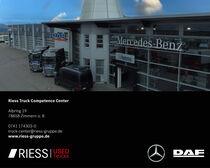 Торговая площадка Riess GmbH & Co. KG Mercedes-Benz und DAF Vertragspartner
