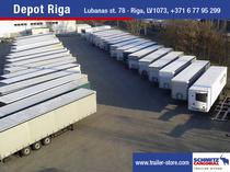 Торговая площадка Schmitz Cargobull Latvija SIA