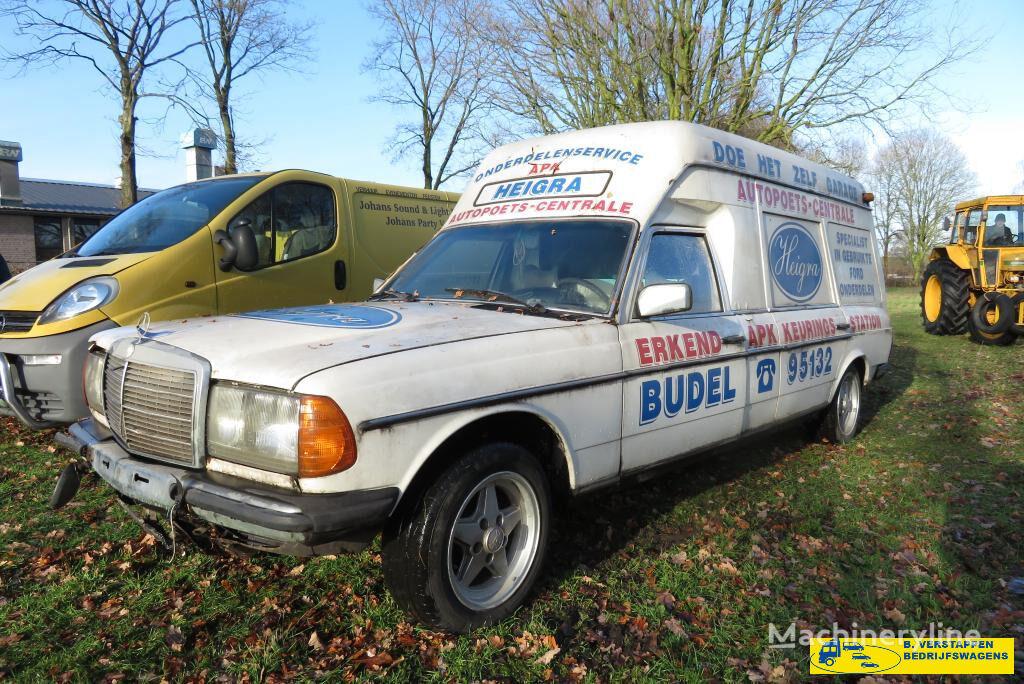 машина скорой помощи MERCEDES-BENZ 200-serie w123 250 T ex ziekenwagen
