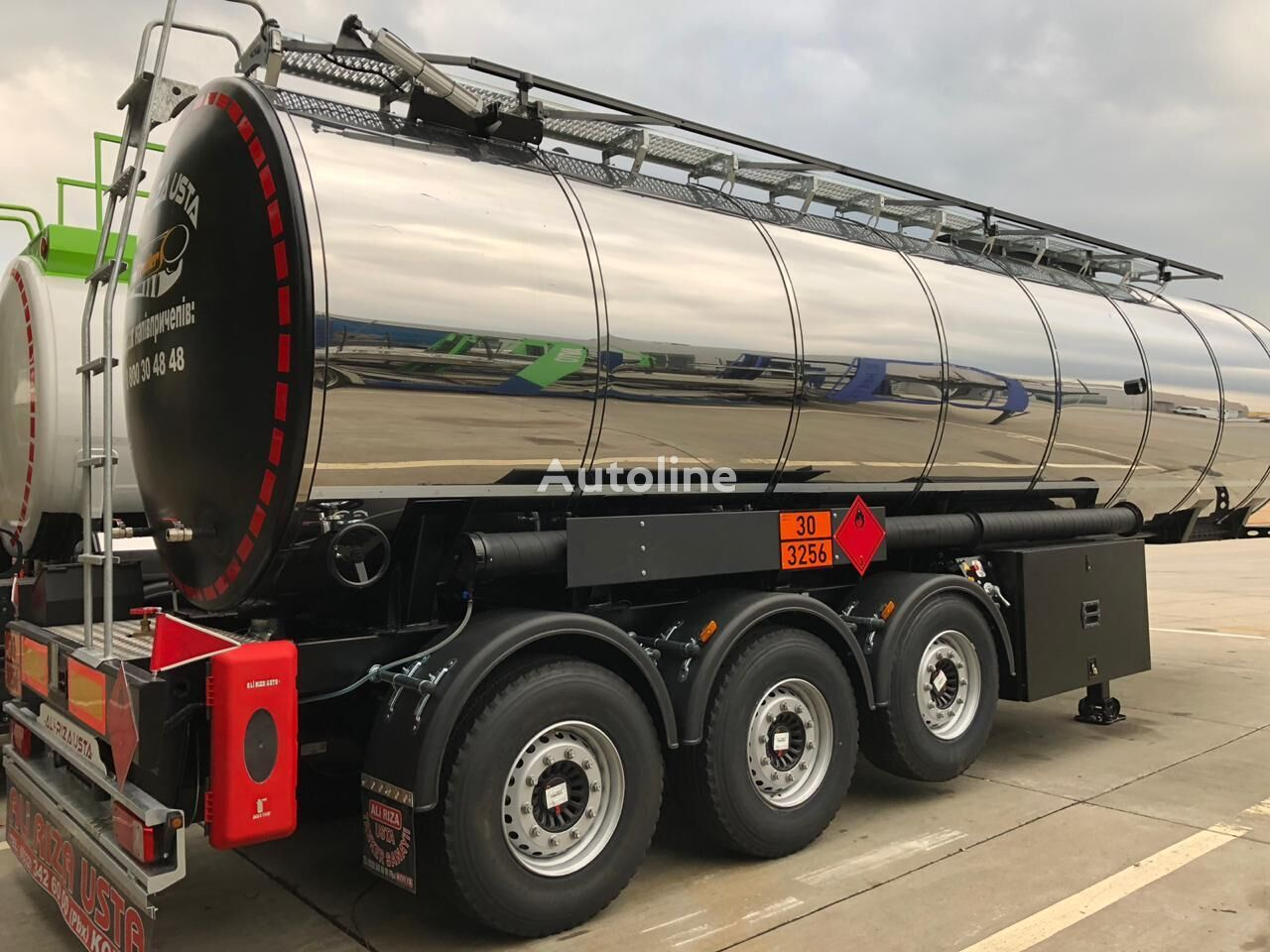 новая битумная цистерна ALI RIZA USTA Bitumen