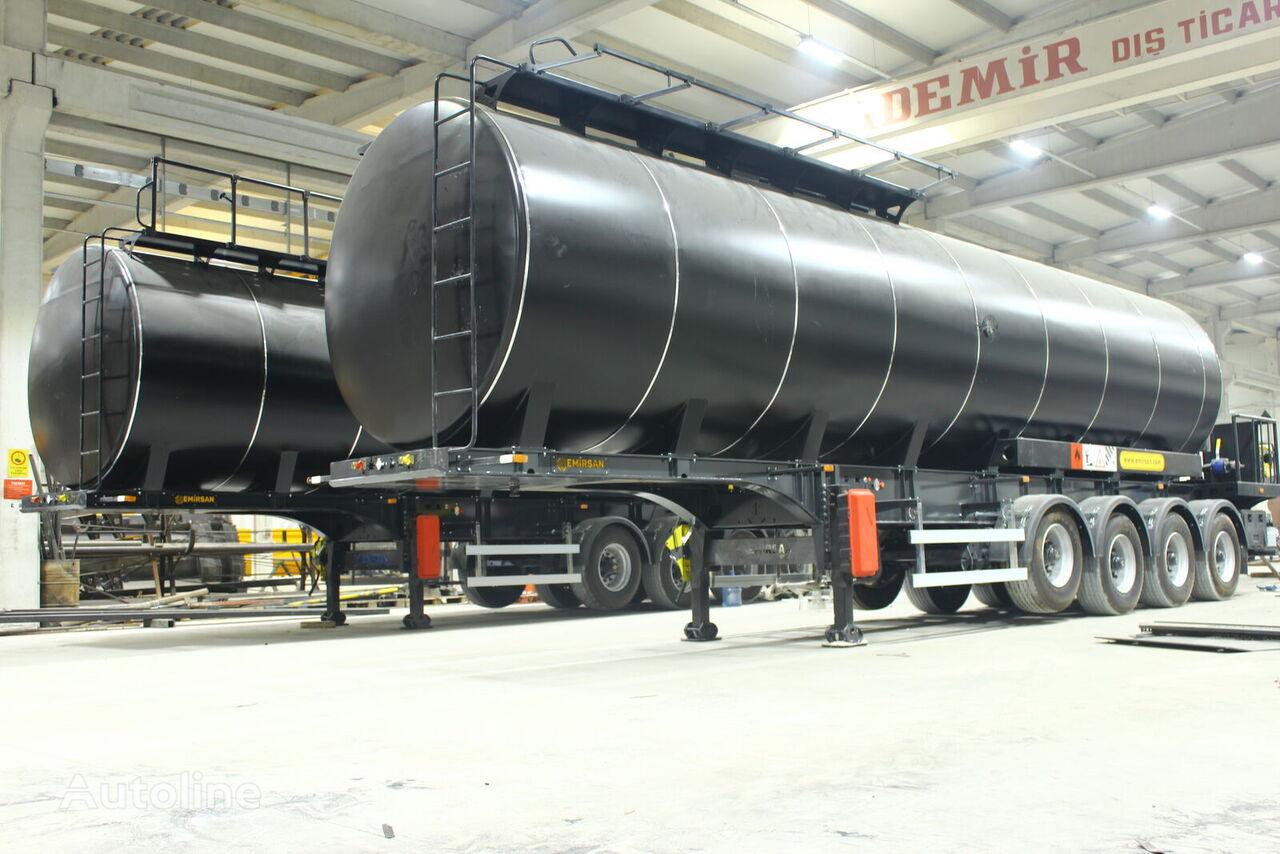 новая битумная цистерна EMIRSAN Brand New Asphalt Tanker with Heating System
