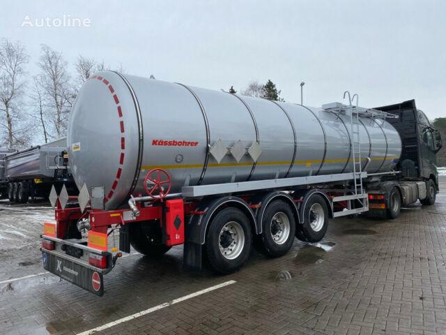 новая битумная цистерна KÄSSBOHRER Edelstahl Bitumen Tankauflieger 32m³