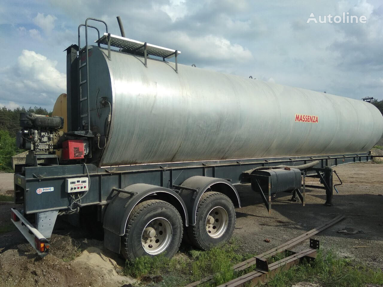 битумная цистерна MASSENZA ASR-2