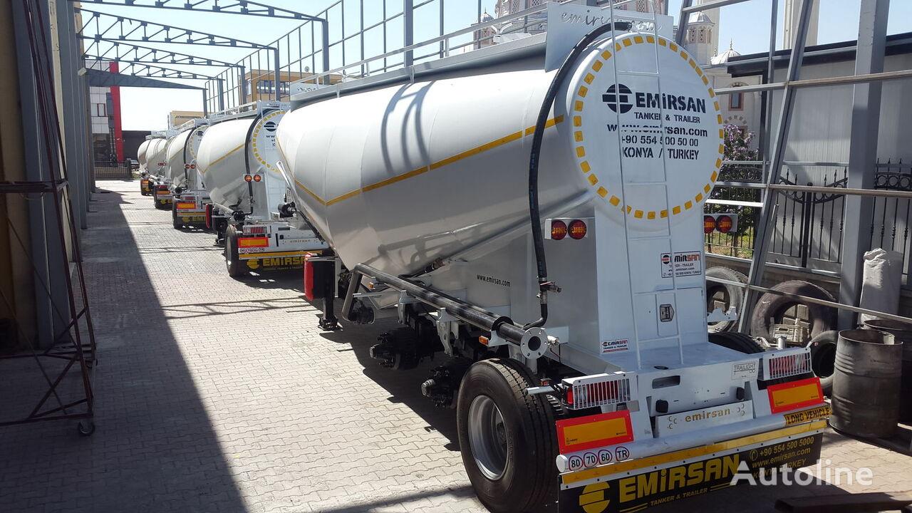 новый цементовоз EMIRSAN Cement Trailer From Manufacturer , Direct from Factory .2020 Mod