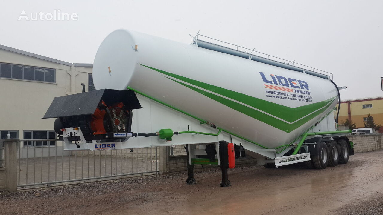цементовоз LIDER 2017 NEW 80 TONS CAPACITY  FROM MANUFACTURER READY IN STOCK