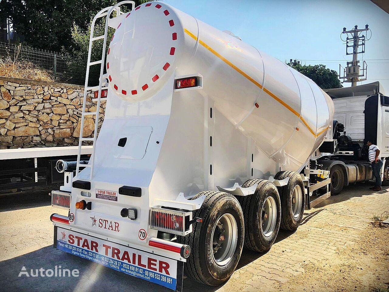новый цементовоз STAR TRAILER ST2021 Cement Bulker Semi Trailer, Silo Trailer, Cement Carrier