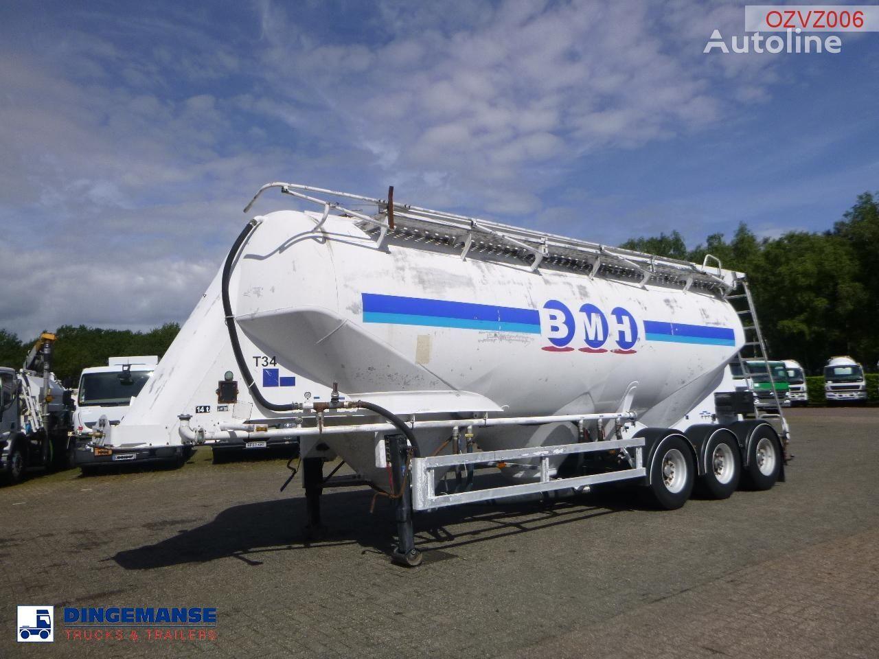 цементовоз ZVVZ Powder tank alu 40 m3 / 1 comp