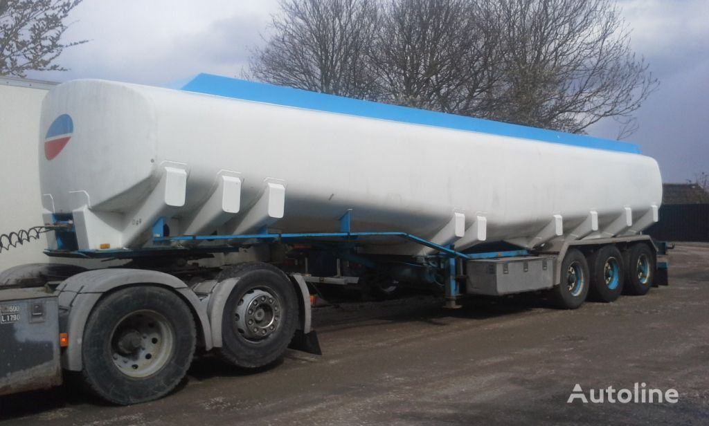 цистерна гсм KÄSSBOHRER Tank ADR 40000 Liter Fuel ADR 7,5 MM Aluminium Pomp
