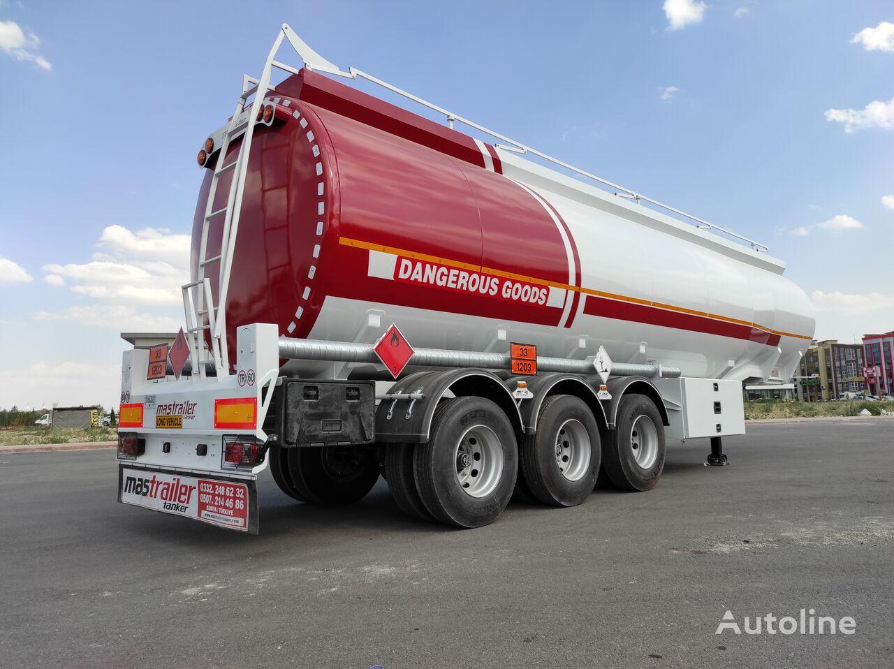 новая цистерна гсм MAS TRAILER TANKER NEW MODEL 45.000 LT FUEL OIL TANKER SEMI TRAILER