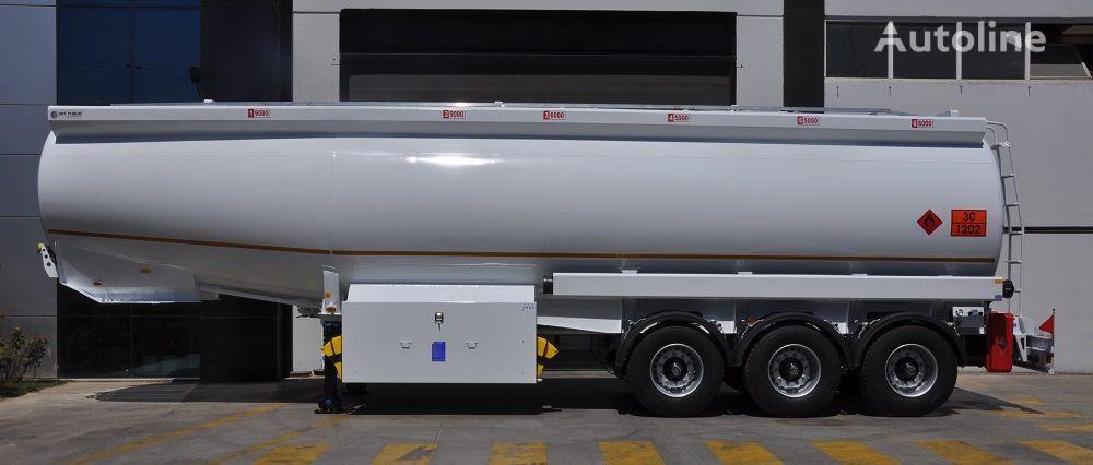 новая цистерна гсм OKT TRAILER 42000 Lt Mild Steel Tanker Semi Trailer