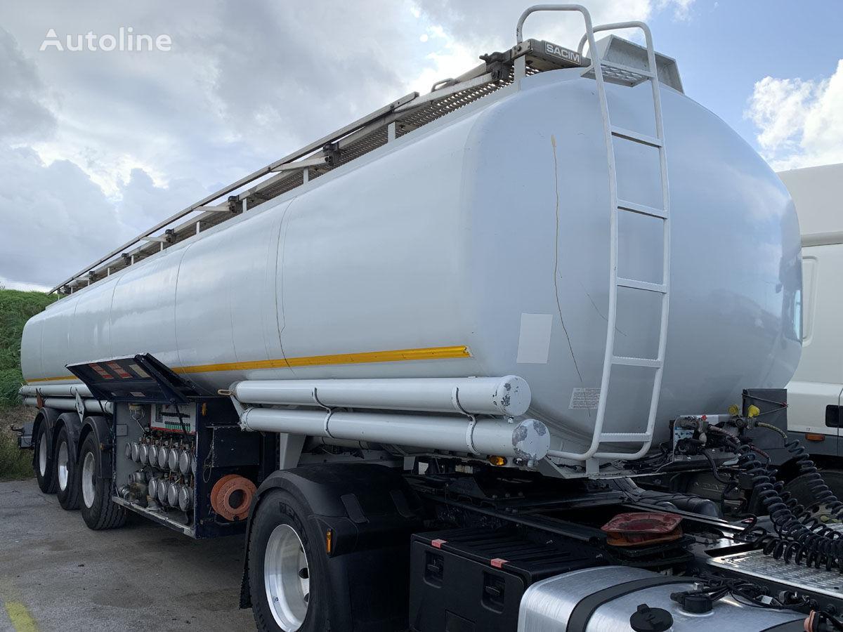 цистерна гсм SACIM fuel/benzin/diesel 41910 Ltr. 12x Kammer ADR