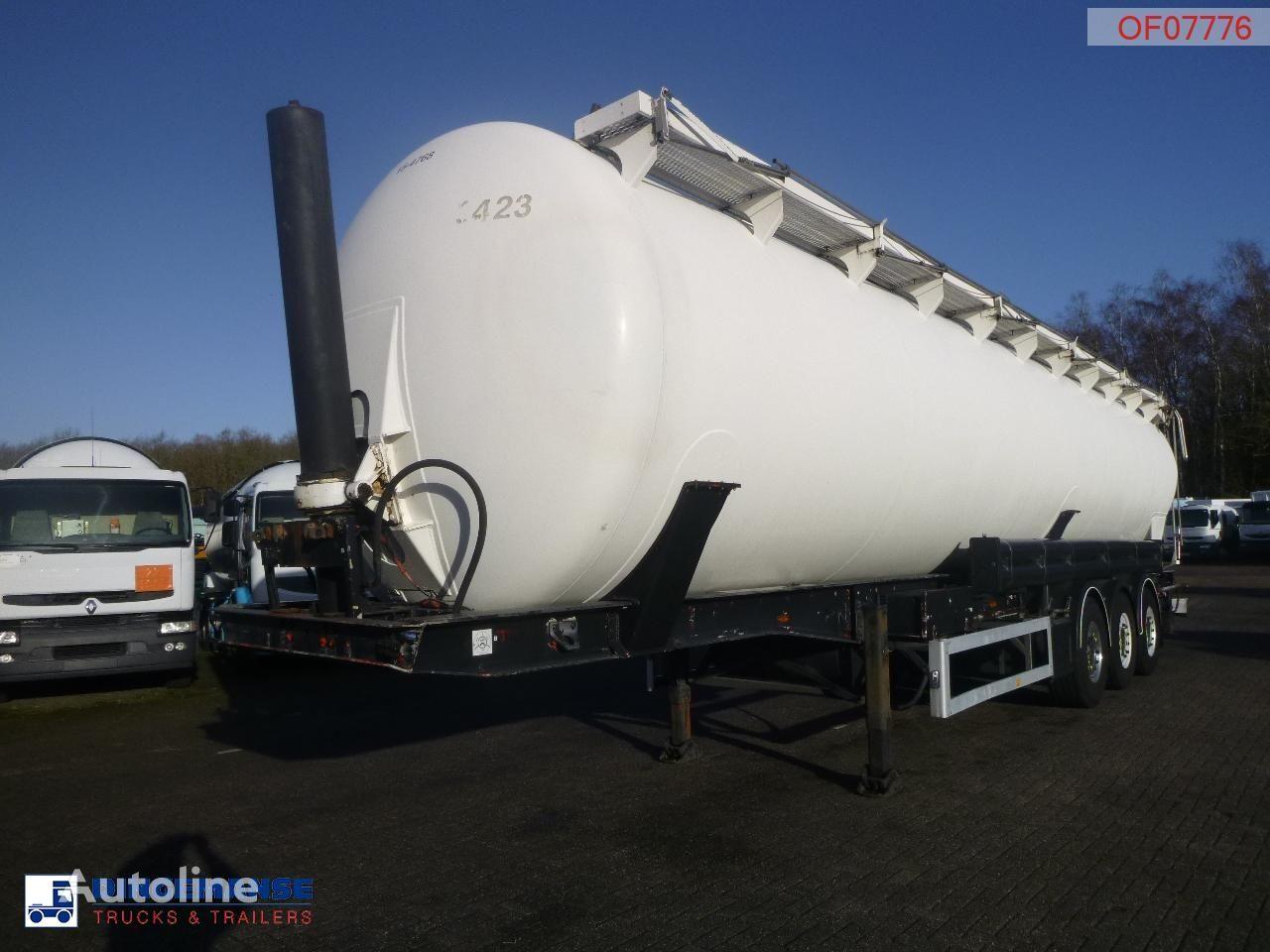 цистерна силос FELDBINDER Powder tank alu 63 m3 (tipping)