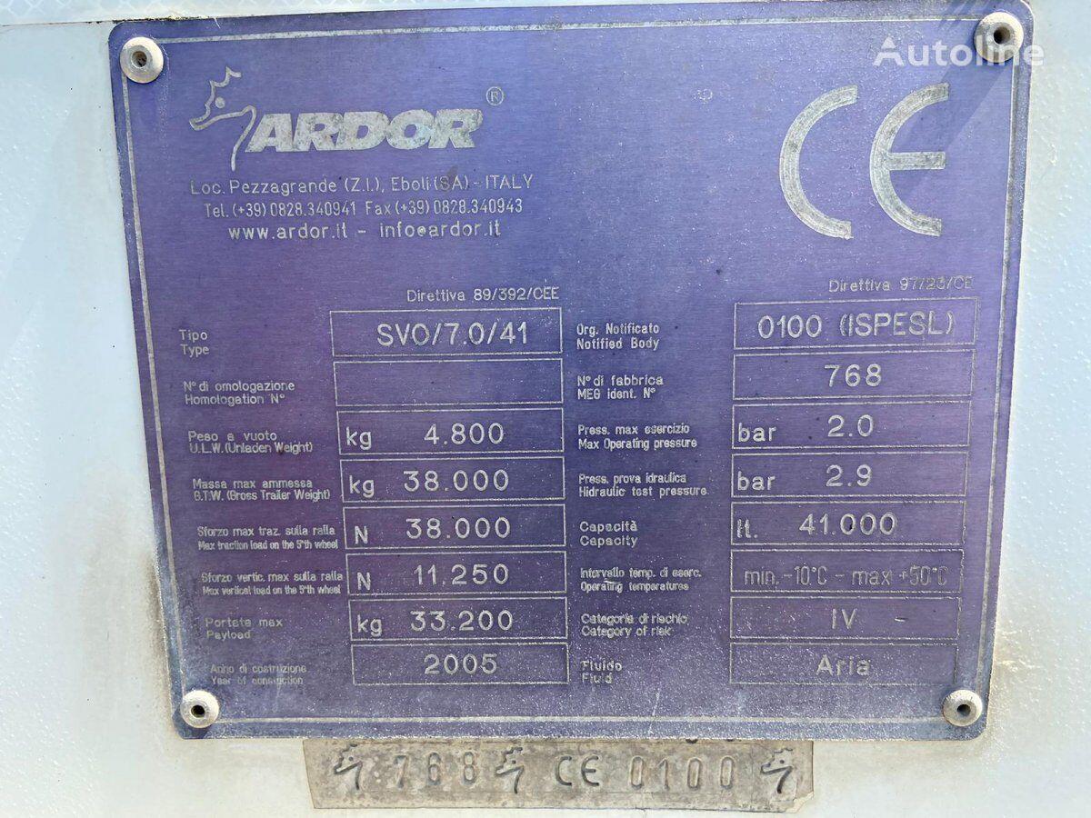цистерна силос ARDOR T19-106