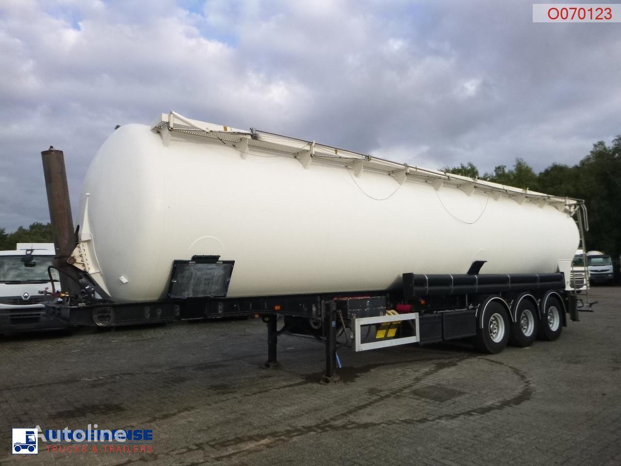 цистерна силос FELDBINDER Powder tank alu 63 m3 / 1 comp (tipping)
