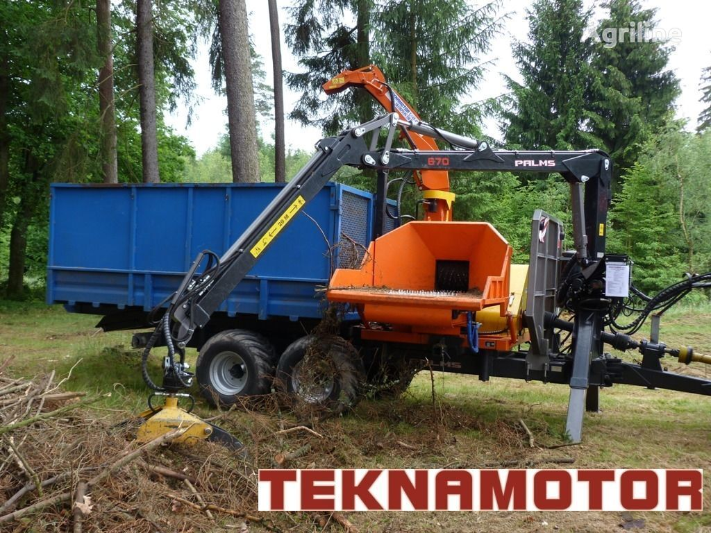 новая дробилка древесины TEKNAMOTOR Skorpion 350 RBP