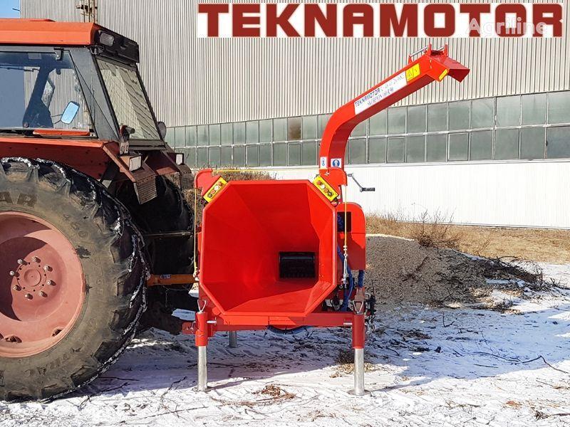 новая дробилка древесины TEKNAMOTOR Skorpon 160 R/90