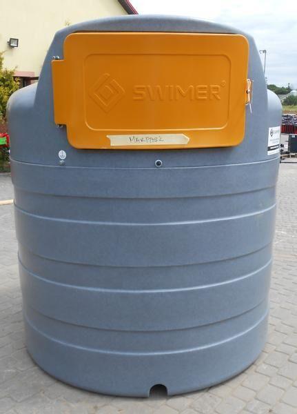 другая цистерна SWIMER Diesel-Tank/ Tank/ Zbiornik dwupłaszczowy 2500 l