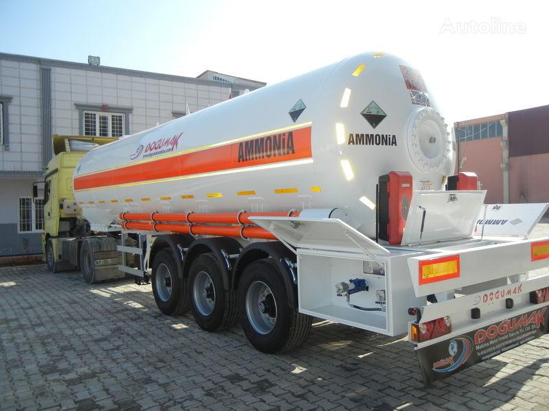 новая газовая цистерна DOĞUMAK SEMI-TRAILER  35M3 AMMONIA (NH3)
