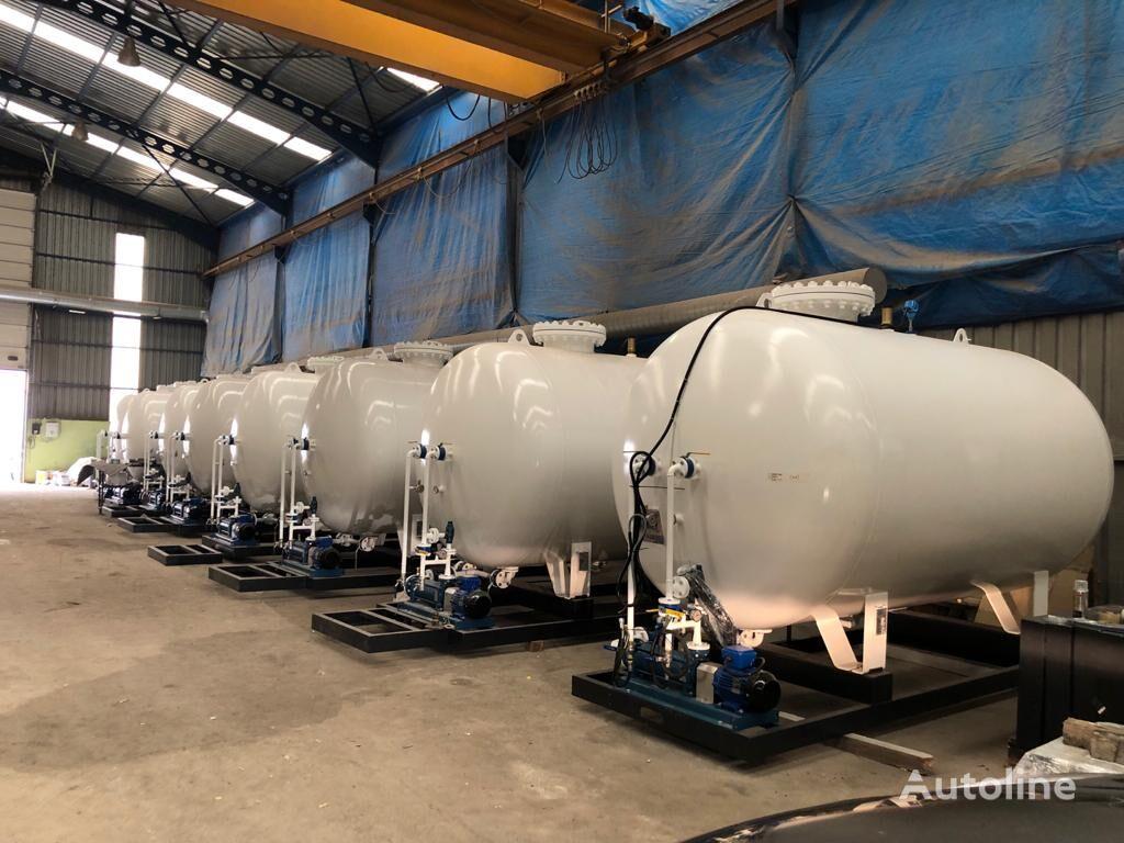 новая газовая цистерна 5 tons (10,000Liters-2019 model)  LPG Skid System IN STOCK LPG R