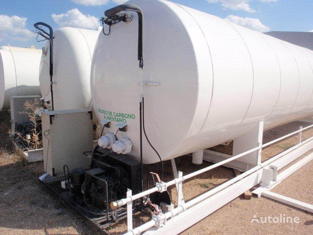 газовая цистерна AUREPA CO2, Carbon dioxide, углекислота, Robine, Gas, Cryogenic