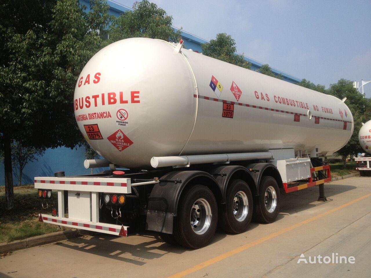 новая газовая цистерна CLW 54000 liters lpg tank semi trailer