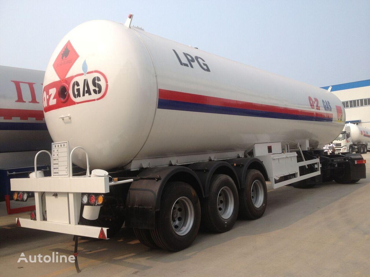 новая газовая цистерна CLW 60cbm lpg tank semi trailer