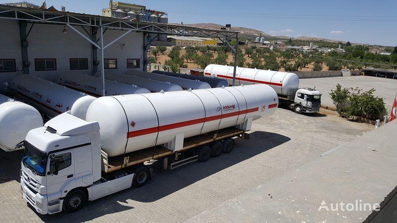новая газовая цистерна DOĞUMAK 115 M3 LPG STORAGE