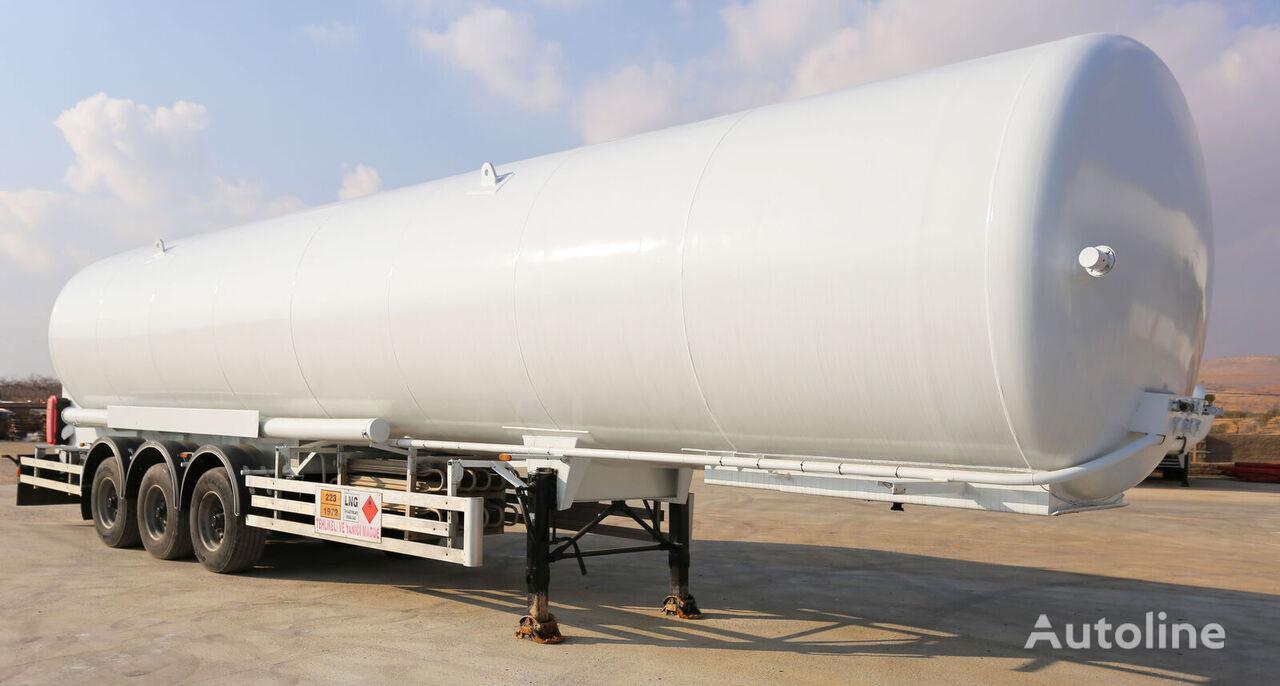 новая газовая цистерна HAMAX LNSTR52 LNG SEMI-TRAILER /  BOBTAIL & STORAGE TANK