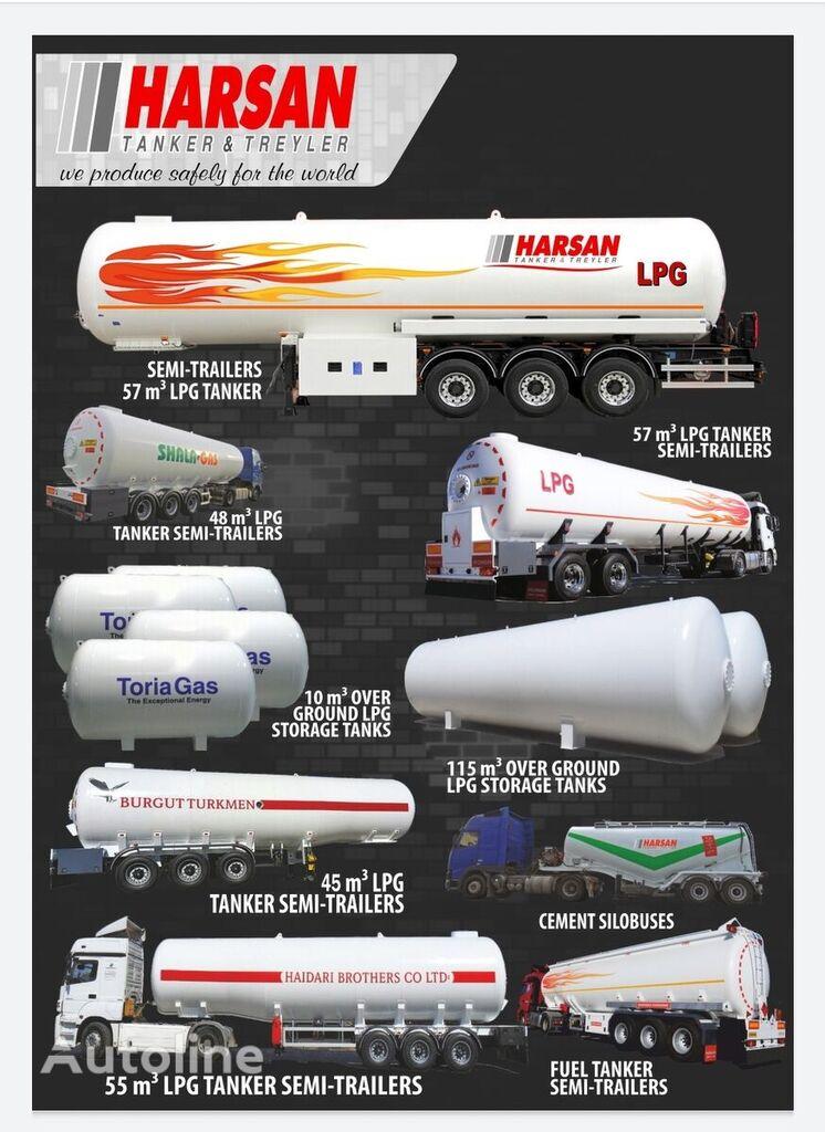 новая газовая цистерна HARSAN 2021