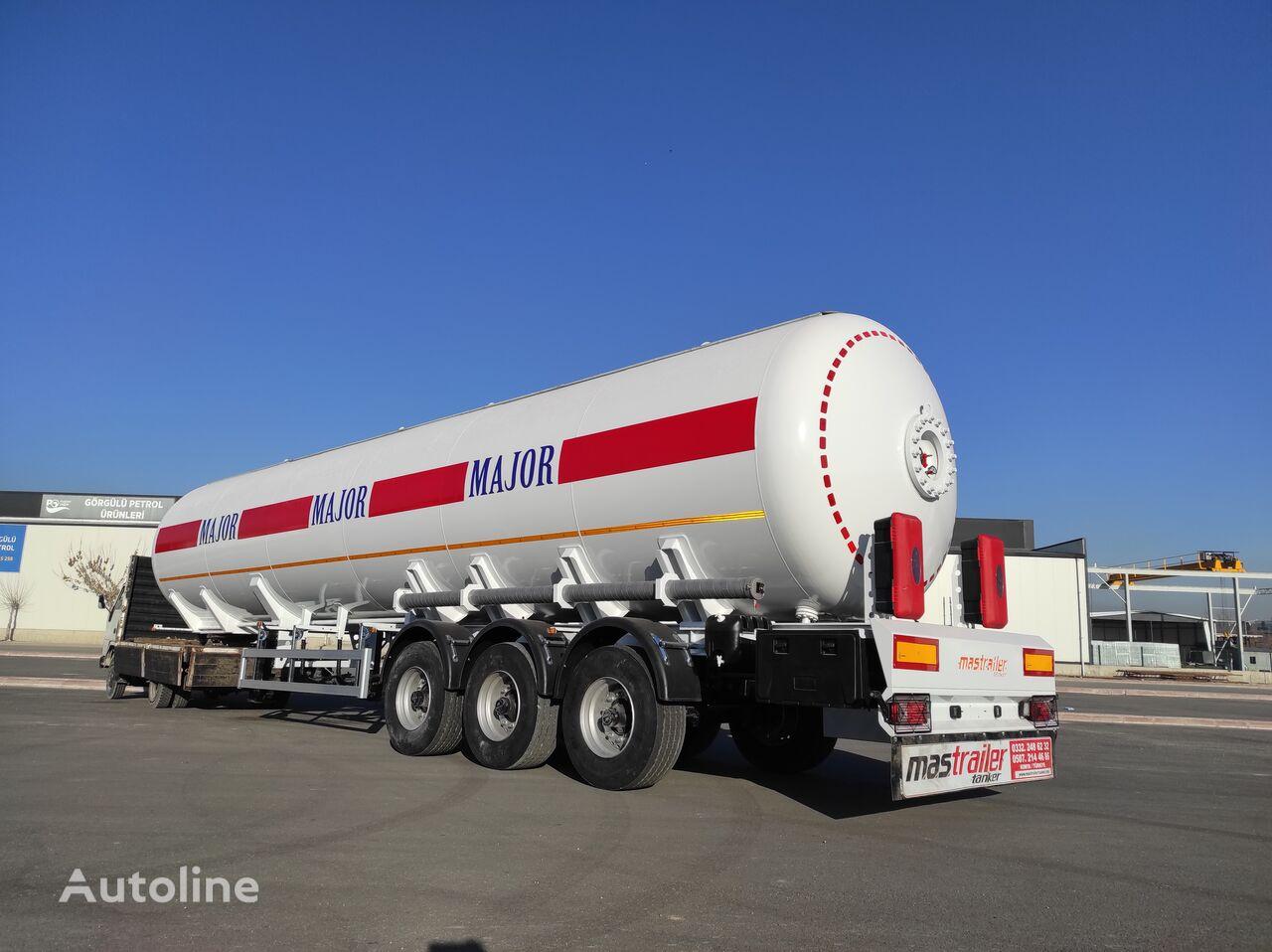 новая газовая цистерна MAS TRAILER TANKER NEW MODEL 57 M3 LPG TANKER TRAILER FROM FACTORY